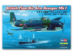 British Fleet Air Arm Avenger Mk 1  (Vista 1)
