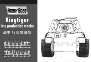 Kingtiger late production tracks  (Vista 1)