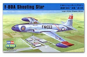 F-80A Shooting Star fighter  (Vista 1)