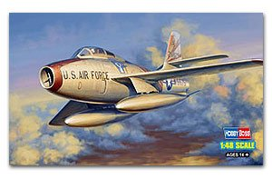 F-84F Thunderstreak  (Vista 1)