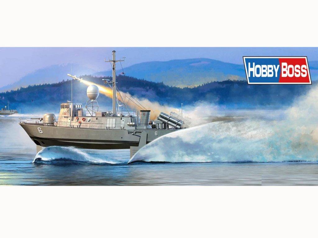 USS Pegasus PHM-2 - 1990  (Vista 1)