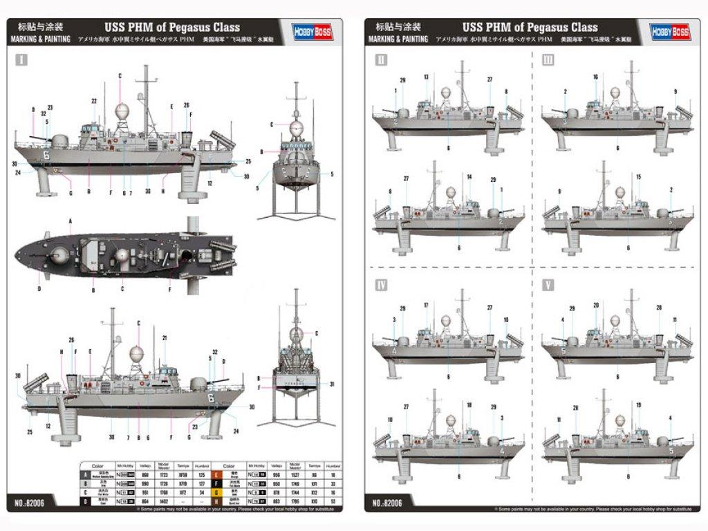 USS Pegasus PHM-2 - 1990  (Vista 2)