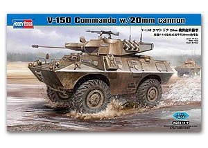 V-150 Commando w/20mm cannon - Ref.: HBOS-82420