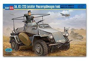 Sd.Kfz 223 Leichter Panzerspahwagen Funk  (Vista 1)