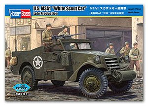 M3A1 Scout Car Late Production - Ref.: HBOS-82452
