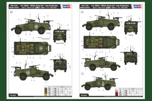M3A1 Scout Car Late Production  (Vista 2)