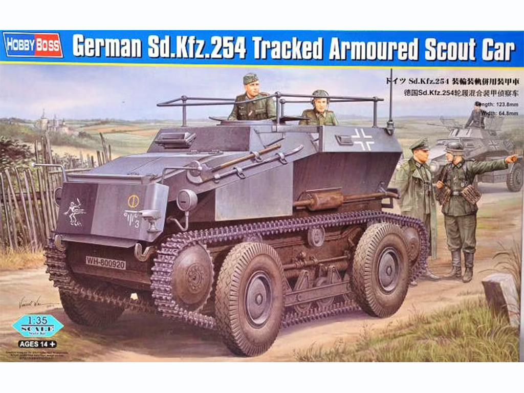German Sd.Kfz.254 Tracked Armoured Scout  (Vista 1)