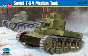 Soviet T-24 Medium Tank  (Vista 1)