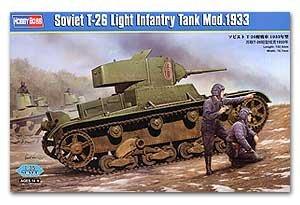 Soviet T-26 Light Infantry Tank Mod.1933  (Vista 1)