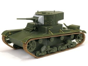 Soviet T-26 Light Infantry Tank Mod.1935  (Vista 2)