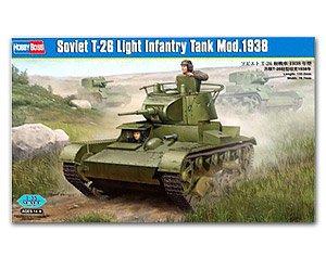 Soviet T-26 Light Infantry Tank Mod.1938  (Vista 1)