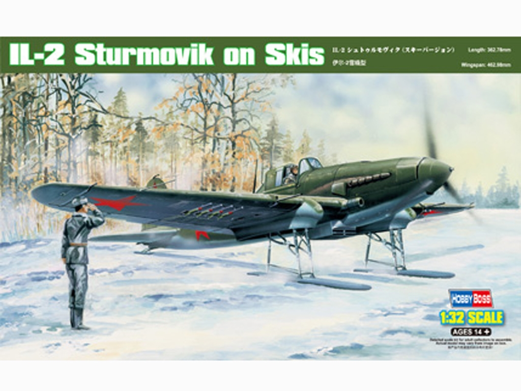 IL-2 Sturmovik on Skis  - Ref.: HBOS-83202