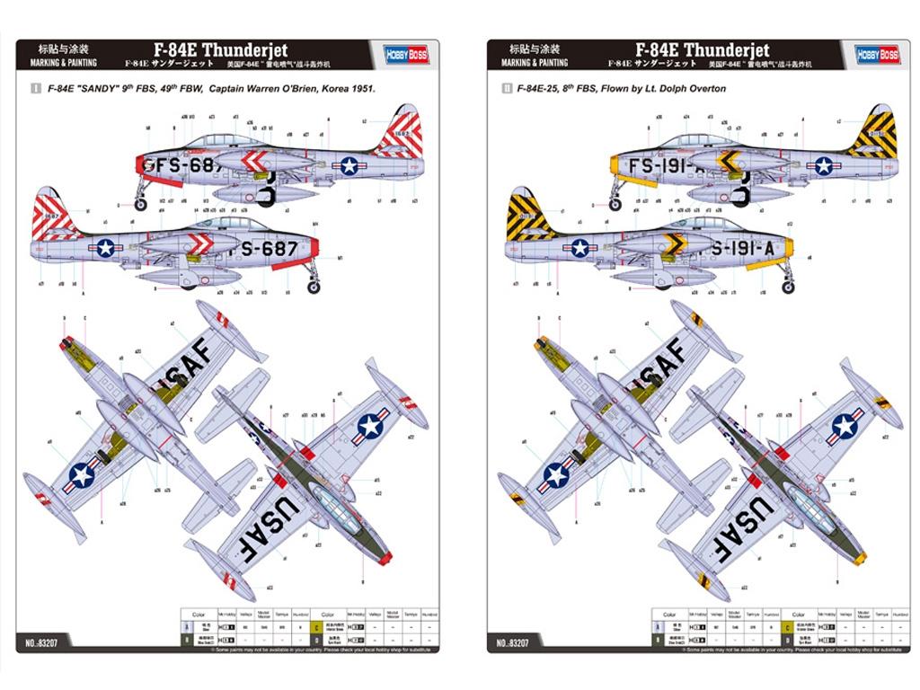 F-84E Thunder Jet  (Vista 2)