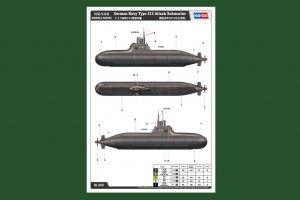 German Navy Type 212 Attack Submarine  (Vista 3)