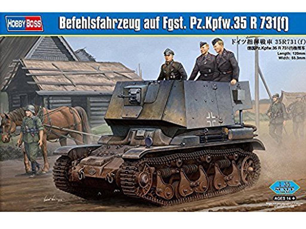 Befehlsfahrzeug auf Fgst. Pz.Kpfw.35 R 7  (Vista 1)