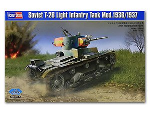 T-26 Light Infantry Tank Mod.1936/1937