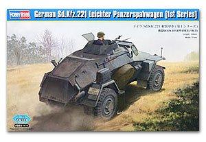 German Sd.Kfz.221 Leichter Panzerspahwag  (Vista 1)