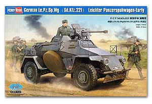 German Le.Pz.Sp.Wg(Sd.Kfz.221A  (Vista 1)