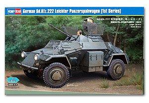 Sd.Kfz.222 Leichter Panzerspahwagen  (Vista 1)