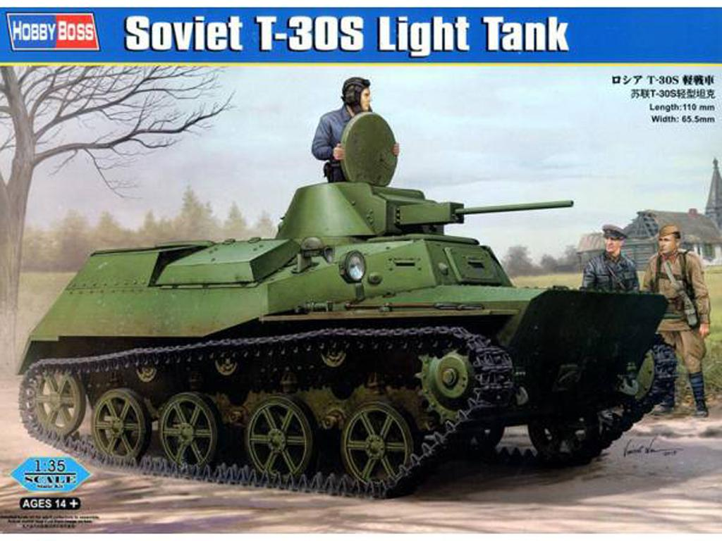Russian T-30S Light Tank