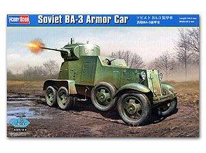 Soviet BA-3 Armor Car  (Vista 1)