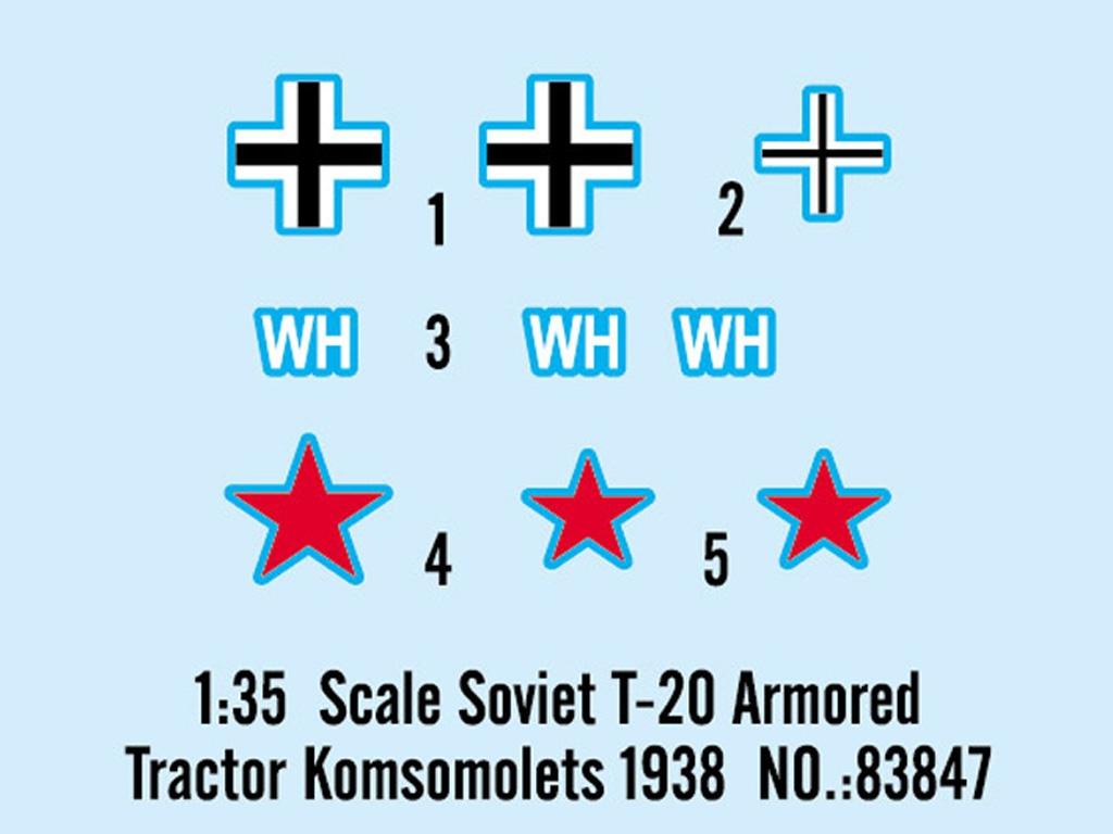 Tractor ruso T-20 Komsomolets 1938  (Vista 7)