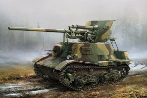 Soviet ZIS-30 Light Self-Propelled Anti-  (Vista 1)