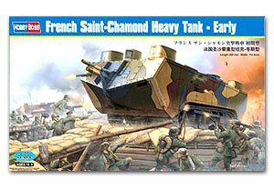 French Saint-Chamond Heavy Tank - Early