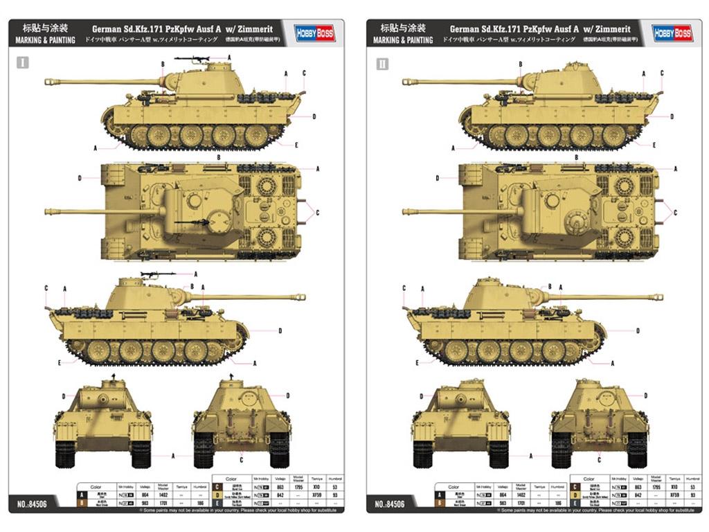 Panther Ausf A - 1943  (Vista 2)