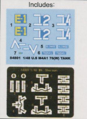 U.S M4A176 (W) Tank  (Vista 4)