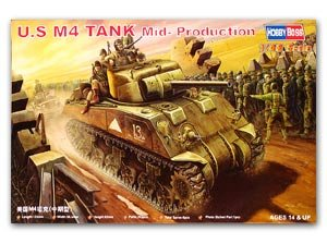 U.S M4 Tank Mid-Production  (Vista 1)