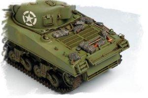 U.S M4A3 Medium Tank  (Vista 6)