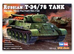 Russian T-34/76 Tank 1942  (Vista 1)