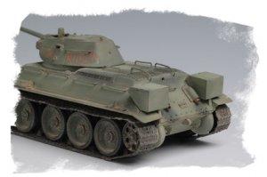 Russian T-34/76 Tank 1942  (Vista 3)