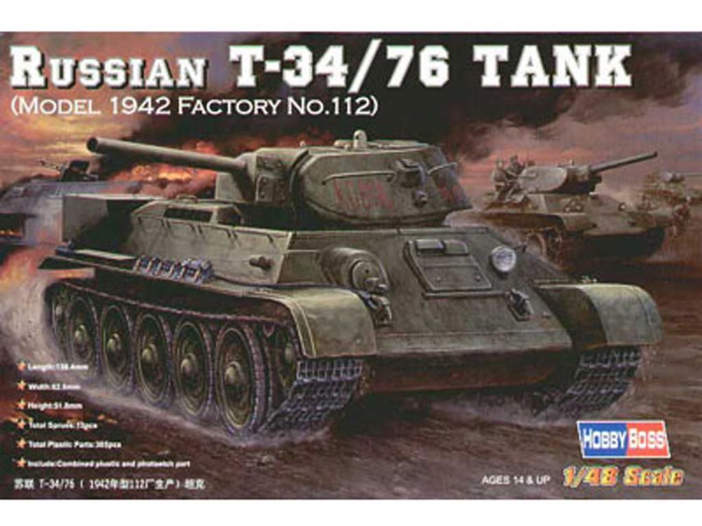 Russian T-34/76 Tank 1943  (Vista 1)