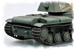 Russian KV-1 1941 Small Turret  (Vista 2)