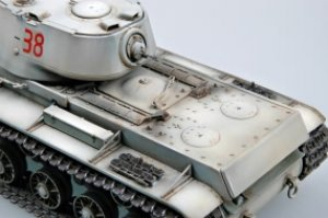 KV-1 model 1942 Lightweight Cast Tank  (Vista 2)