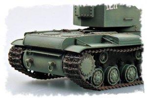 Tanque Ruso  KV  (Vista 4)