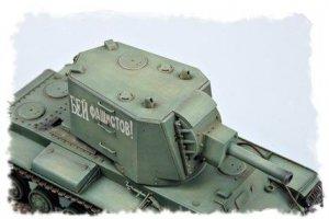 Tanque Ruso  KV  (Vista 5)