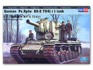 German Pz.Kpfw KV-2 754( r )  (Vista 1)