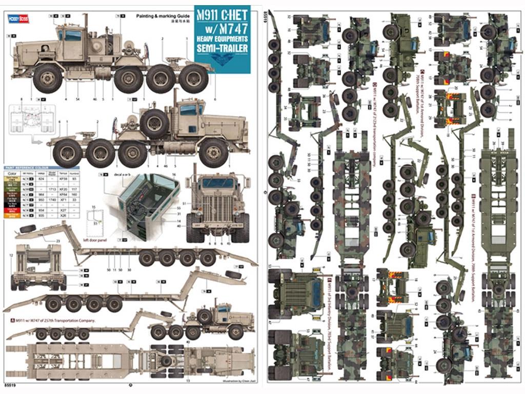 M911 C-HET w/m747 Heavy Equipment Semi-T  (Vista 2)