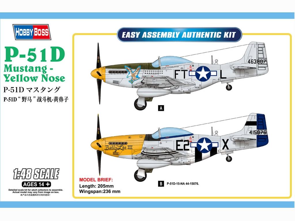 P-51D Mustang - Yellow Nose  (Vista 1)