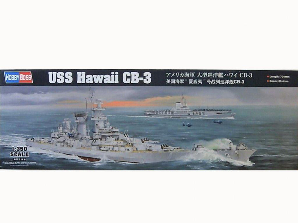 USS Hawai CB-3 - US Navy Heavy Cruiser 1