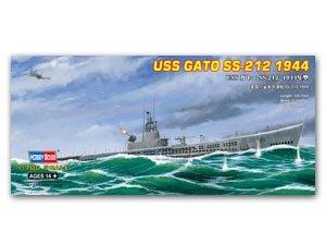 USS Gato SS-212 1944   (Vista 1)
