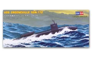 USS Navy GreenVille Submarine SSN-772   (Vista 1)
