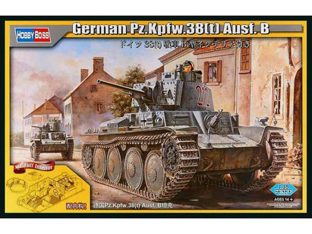 Panzer 38t Ausf.B  (Vista 1)