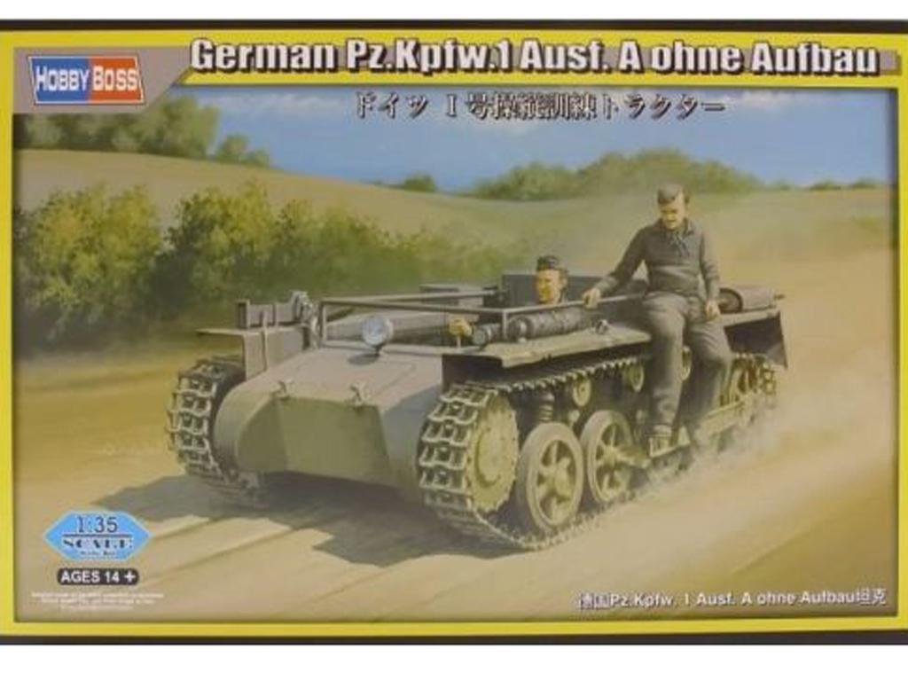 Pz.Kpfw.1 Ausf. A ohne Aufbau  (Vista 1)