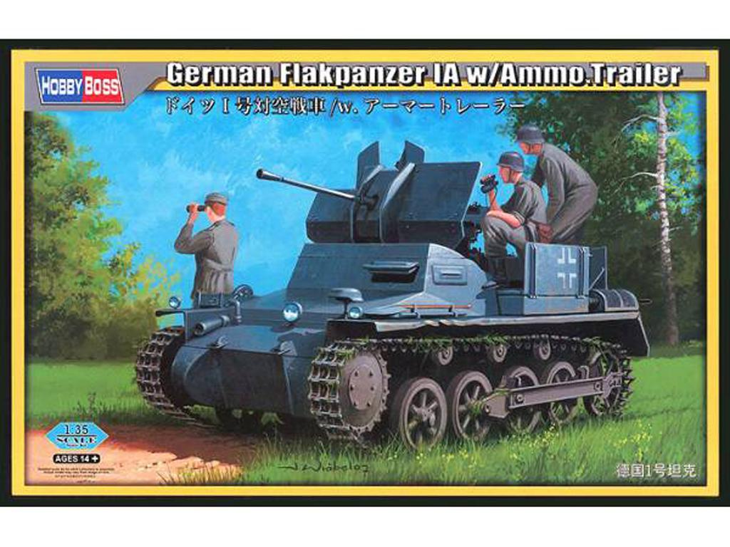 Panzer I Flak con remolque (Vista 1)