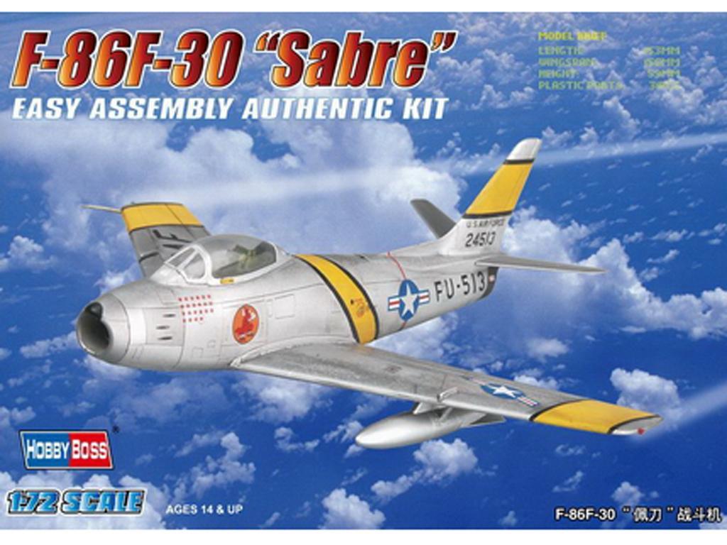F-86F-30 Sabre (Vista 1)