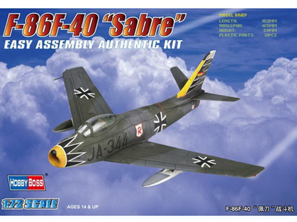 """F-86F-40 """" Sabre"""" (Vista 1)"""